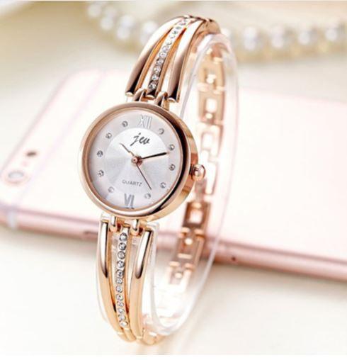 Relógio Feminino Jiu Strass