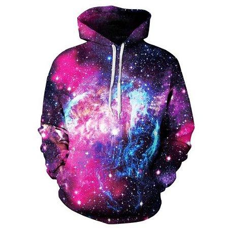 Moletom Masculino Galaxia Modelo 15