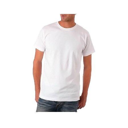 Camiseta Branca 100% Poliéster para Sublimação