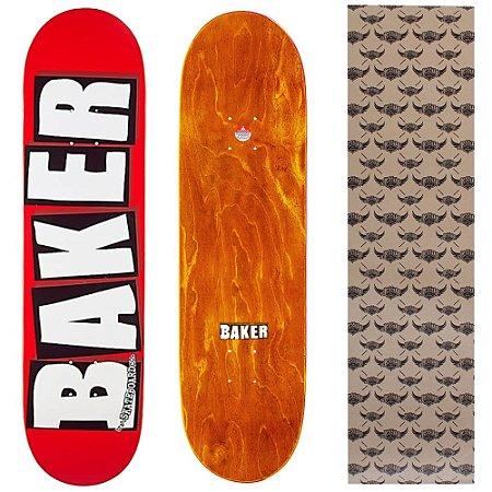 Shape Importado Baker Brand 8.25 Vermelho (Grátis lixa Jessup)