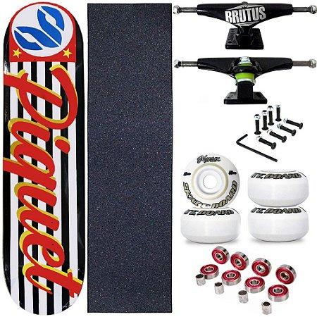 Skate Profissional Completo Paulo Piquet 8.0 Cisco Skate SP Abec-3