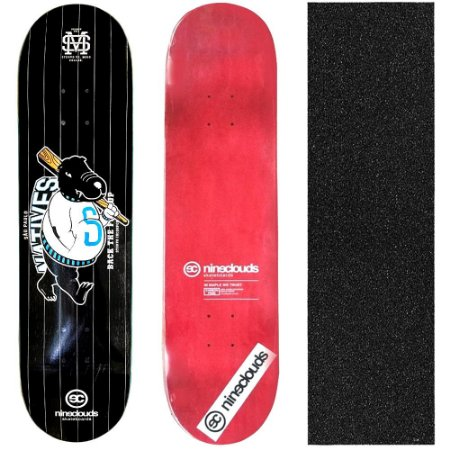 Shape Profissional Maple Skate Nineclouds Natives 8.0 (Grátis Lixa Importada)