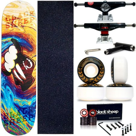 Skate Completo Maple Black Sheep Colors 8.0 + Truck This Way