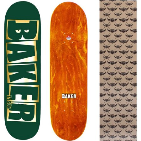Shape Maple Importado Baker Brand 8.0 Foil Tyson Green (Grátis lixa Jessup)