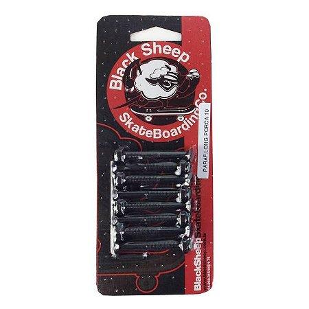 Parafuso de Base Black Sheep Long Porca 10mm (3/8) com Chave Allen