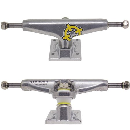 Truck Intruder Pro Series Silver 129mm (Par + Grátis 8 parafusos)