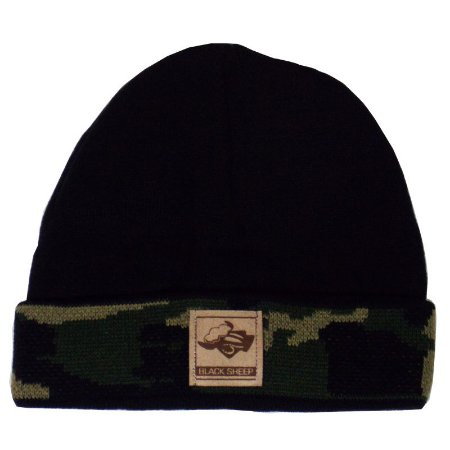 Gorro Black Sheep cam. verde