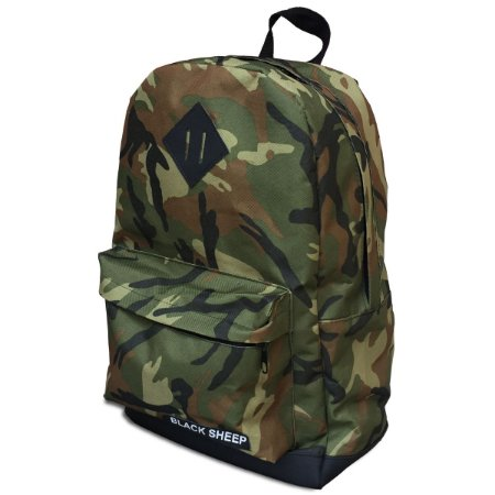 ec571b04db296 Mochila Black Sheep College Camuflada - Virtual Skate Shop