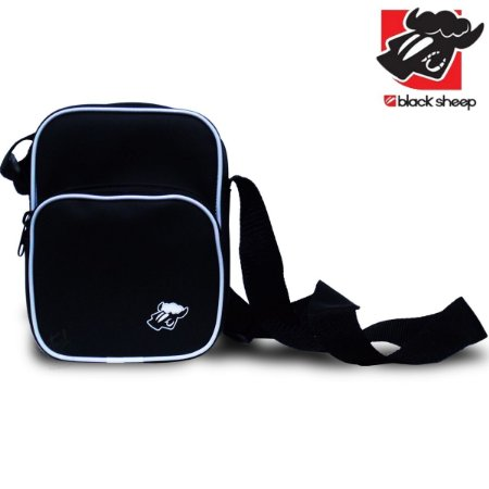 Shoulder Bag Black Sheep Big Preta e Branca