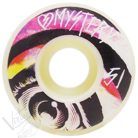 Roda Mystery Skateboard Disturbia Colour Fade 51mm ( jogo 4 rodas )