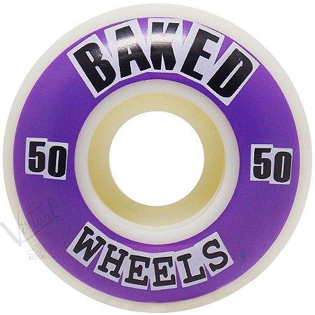 Roda Baker Baked 50mm Purple ( jogo 4 rodas )
