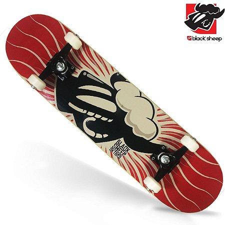 Skate Montado Black Sheep Profissional Sol