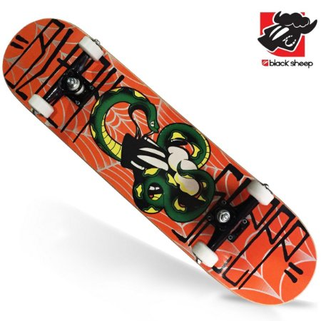 Skate Montado Black Sheep Semi-profissional snake