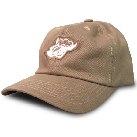 Boné Black Sheep Dad Hat Logo cor Marrom