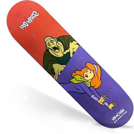 Shape Kronik Marfim Scooby Doo Daphne 8.125 + Grátis Lixa