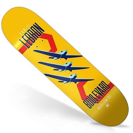 Shape Importado Boulevard Skate Daniel Lebron Icon 8.0 (Grátis Lixa Jessup Importada)