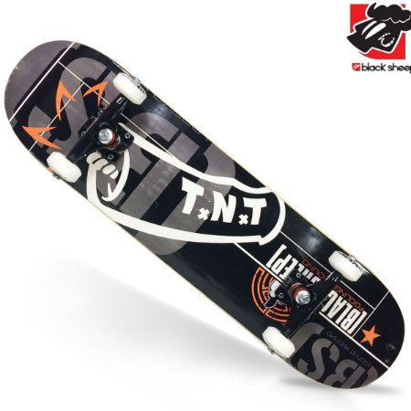 Skate Montado Black Sheep Iniciante Tnt