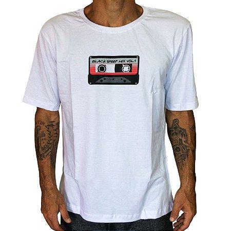 Camiseta Black Sheep Fita Branca