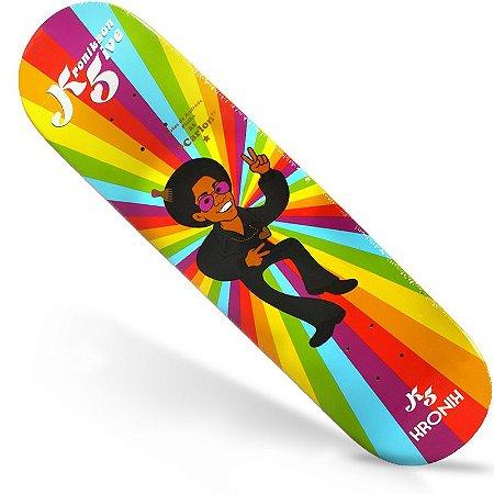 Shape Kronik Skate Maple Retrô K5 Five Paz 8.25 (Grátis Lixa Importada)
