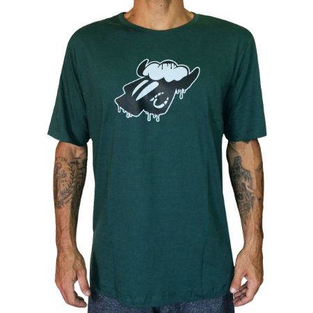 Camiseta Black Sheep Derretendo Verde