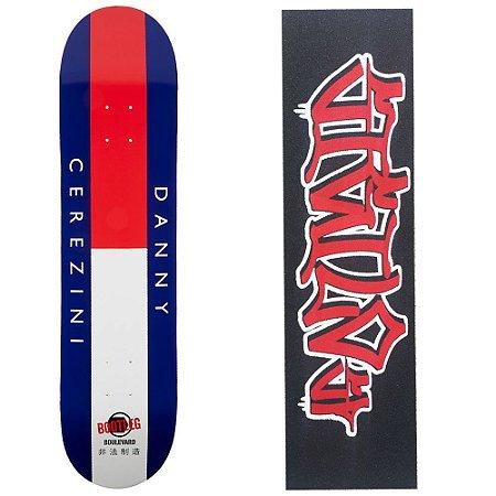 Shape Importado Boulevard  Skate Bootleg Danny 7.9 (Grátis Lixa Importada Sigilo)