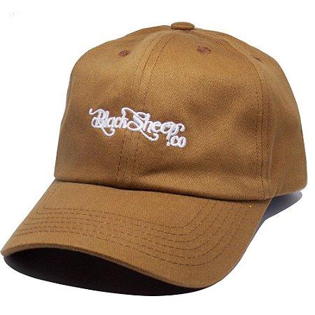 Boné Black Sheep Dad Hat Escrito Marrom