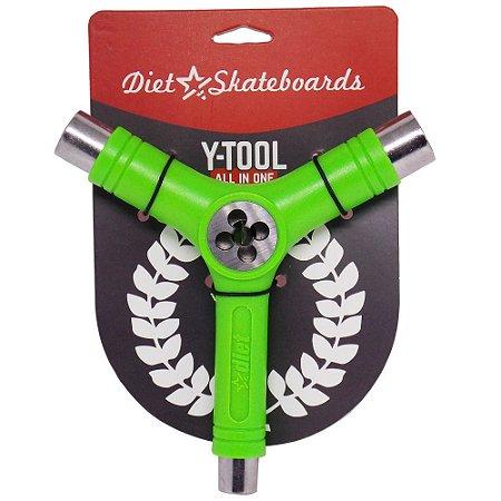 Chave Para Montar Skate Diet Cossinete Verde