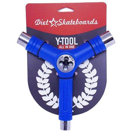 Chave Para Montar Skate Diet Skateboard Cossinete Azul