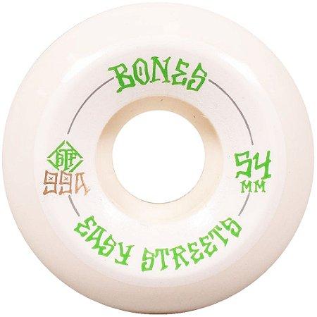 Roda Bones Original STF Easy Street  54mm V5. ( jogo 4 rodas )
