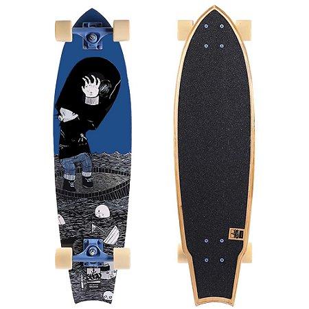 Skate Cruiser KroniK Fish Tail Art Pesadelo 32 Polegadas