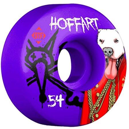 Roda Bones Original STF Hoffart Prince 54mm V3 com 4 rodas