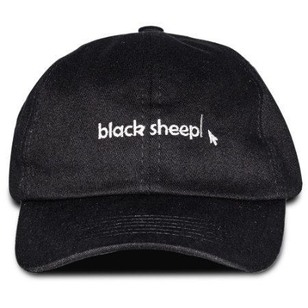Boné Black Sheep Dad Hat Seta