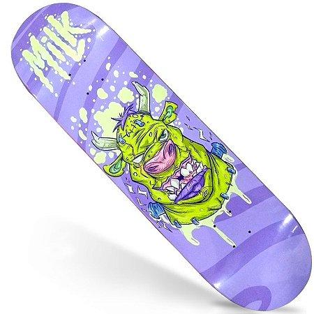 Shape Maple Milk Skate Importado 8.0 Frank (Grátis Lixa Jessup Importada)