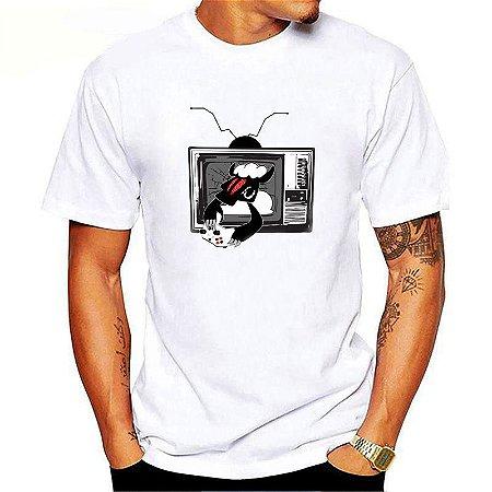 Camiseta Black Sheep Skate Game Branca
