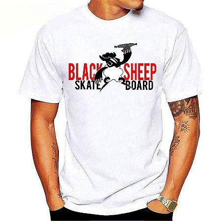 Camiseta Black Sheep Skate Truck Branca