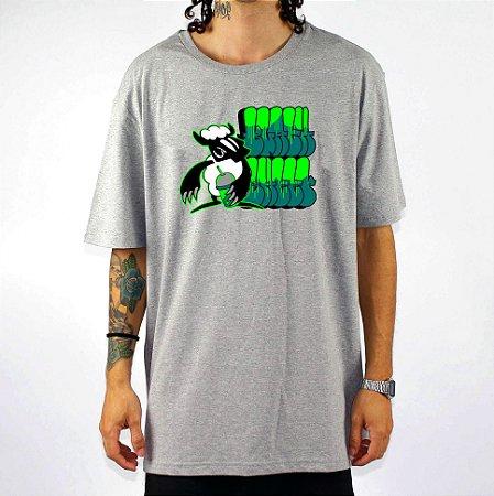 Camiseta Black Sheep Skate Grafite Cinza