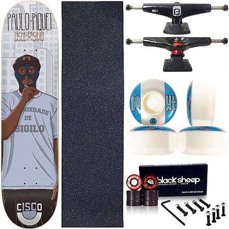 Skate Completo Profissional Maple Cisco Piquet 8.125 Next
