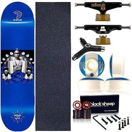 Skate Completo Profissional Maple Cisco Evolution 8.0 Truck Stronger