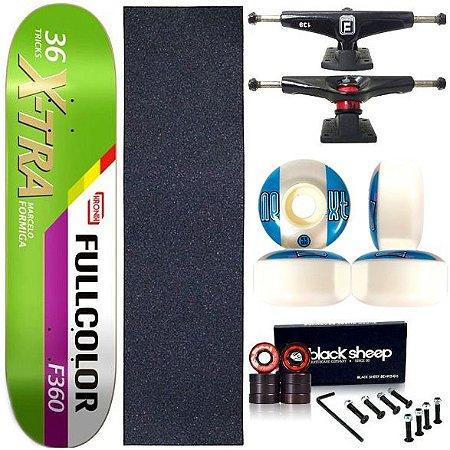 Skate Completo Profissional Shape Maple Kronik 8.0 X-Tra Next