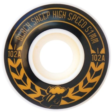Roda Importada Black Sheep 51mm 102A ( jogo 4 rodas )
