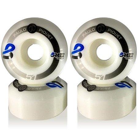 Roda Brats Wheels Promodel Paulo Piquet 51mm 101A ( jogo 4 rodas )