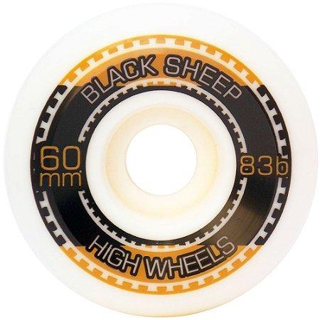 Roda Black Sheep Importada Gold 60mm 83B ( jogo 4 rodas )