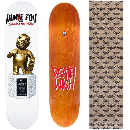 Shape Importado Deathwish Jamie FoyBig Boy Trophy 8.0 (Grátis lixa Jessup)