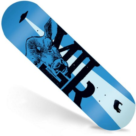 Shape Maple Milk Skate Importado 8.0 Beto Janz Blue (Grátis Lixa Importada)