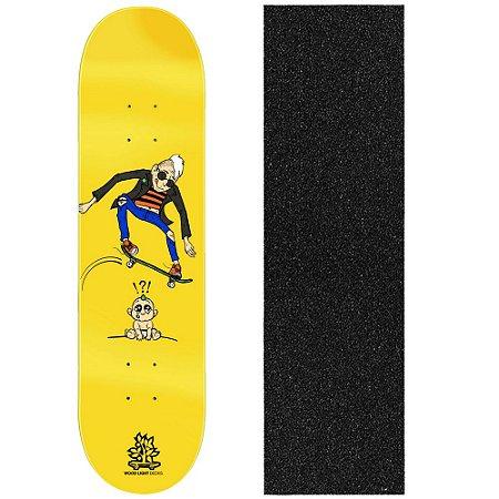 Shape de Skate Profissional Wood Light Little Baby 8.0 (Lixa de Brinde)