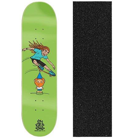 Shape de Skate Profissional Wood Light Garden Gnome 8.0 (Lixa de Brinde)