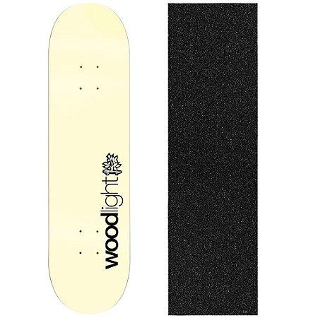 Shape de Skate Profissional Wood Light Basic Clear 8.0 (Lixa de Brinde)