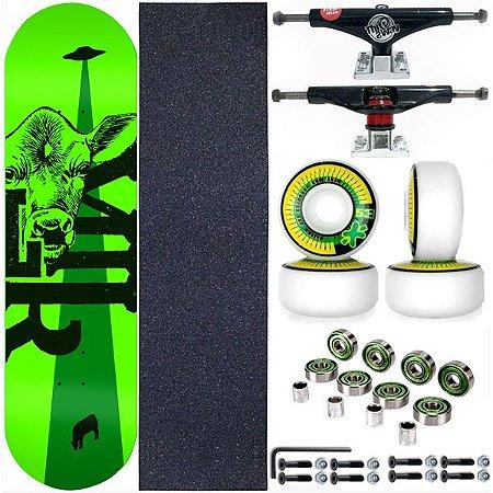 Skate Completo Maple Milk Skate 8.0 Beto Janz Green + Truck ThisWhay