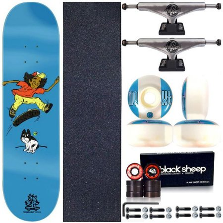 Skate Completo Shape Wood Light 8.0 Bulldog + Truck This Way