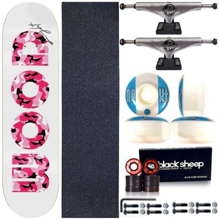Skate Completo Shape Wood Light 8.0 Pink + Truck This Way
